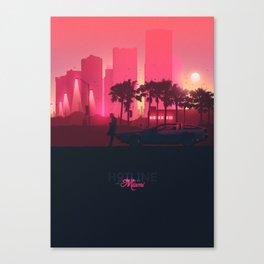 Hotline Miami Canvas Print