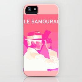 Le Samourai 1  iPhone Case