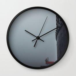 Endless Fog Wall Clock