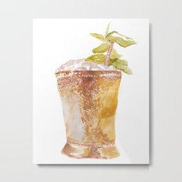 Mint Julep Metal Print
