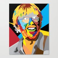phish Canvas Prints featuring Phish on a Trey by Skufire