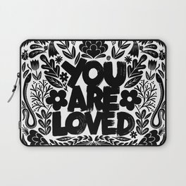 you are loved - garden Laptop Sleeve