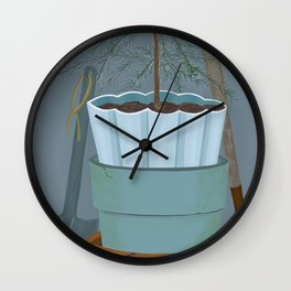 Potting shed Wall Clock