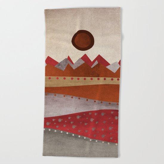 Textures/Abstract 135 Beach Towel