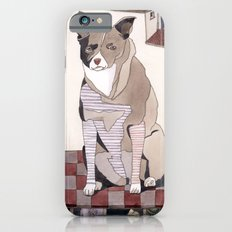 Striped Dog iPhone 6s Slim Case