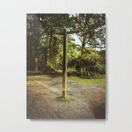 Six Ways Crossroads II Metal Print