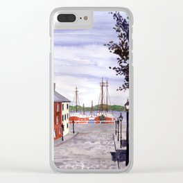 New Bedford, Cape Cod Clear iPhone Case