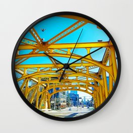 Tower Bridge (Sacramento, CA, USA) Wall Clock