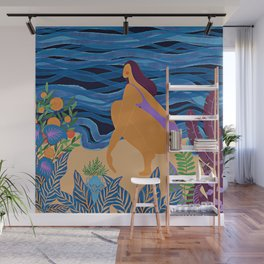 Eve at the beach Wall Mural