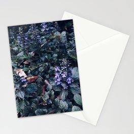 Proud Little Purple Flowers Stationery Cards