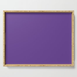 Deep Ultra Violet 2018 Fall Winter Color Trends Serving Tray