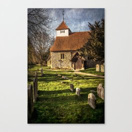 Church of St Mary Sulhamstead Abbots Canvas Print