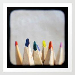 Pencils Photograph Art Print