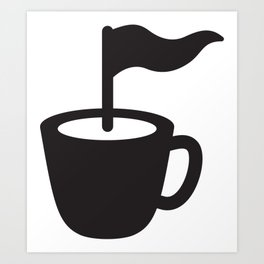 Caffee Point Art Print