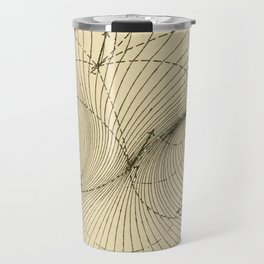 Fluid Dynamics Travel Mug