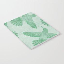 Hummingbird Pattern Notebook