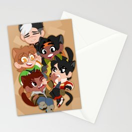 Meowtron Stationery Cards