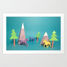 Where Horses Go to Die Art Print