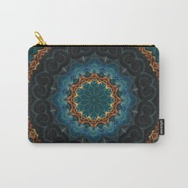 Celtic Night Mandala Carry-All Pouch