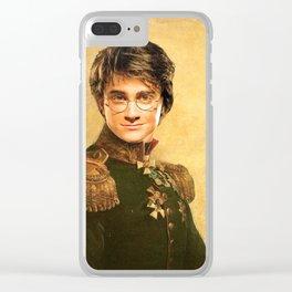 Harry General Portrait Painting | Fan Art Clear iPhone Case