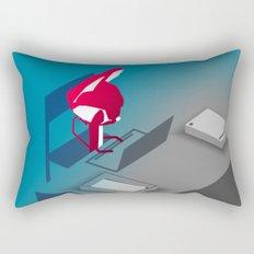 Please Say Something - Work Rectangular Pillow