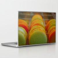 macarons Laptop & iPad Skins featuring Macarons by Chee Sim
