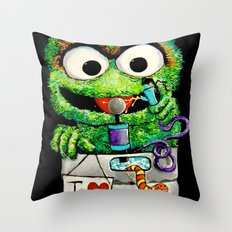 THE GROUCH Throw Pillow