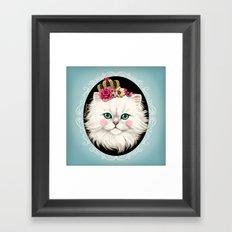 Cat Series I Framed Art Print