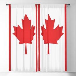 Canada flag Blackout Curtain