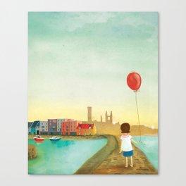 St Andrews Pier Canvas Print