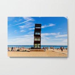 Barceloneta Beach - #2 Metal Print