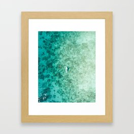 PADDLEBOARD Framed Art Print