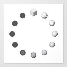 Catmull-Clock Subdivision Canvas Print