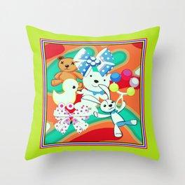 DesignerPatternbaby1 Throw Pillow