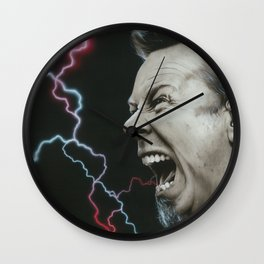 'James Wrath' Wall Clock