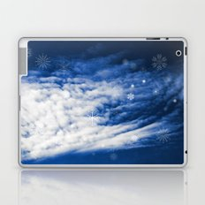 Snowy heaven Laptop & iPad Skin