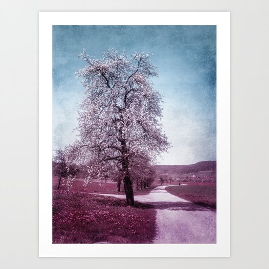 FLEURISSANTE Art Print