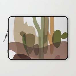 Abstract Desert Cactus Landscape Laptop Sleeve