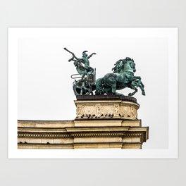 The Chariot. Art Print