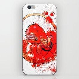 Alien chestbursting iPhone Skin