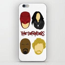 The Defenders iPhone Skin
