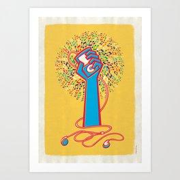 Pop Revolution Art Print