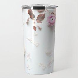 SPRING FLOWERS IN BLUSH 1 Travel Mug