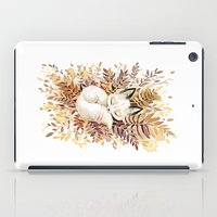 rug iPad Cases featuring Slumber by Freeminds