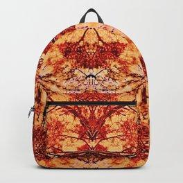 Red Flora Backpack