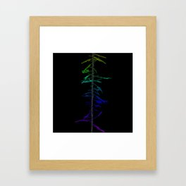 Witch Ladder Framed Art Print