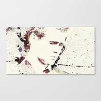 will ferrell Canvas Prints featuring Gangster by  Maʁϟ