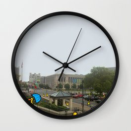 Philadelphia Steps Wall Clock