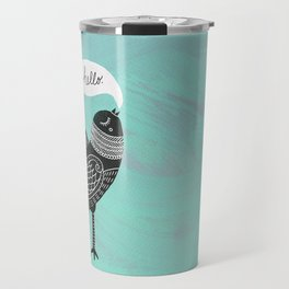 Hello Bird Travel Mug
