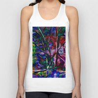 crystal Tank Tops featuring Crystal by Stephen Linhart